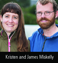 Kristen and James Miskelly