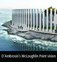 Franc D'Ambrosio's vision for McLoughlin Point