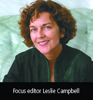 Focus editor Leslie Campbell