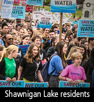 Shawnigan Lake protest